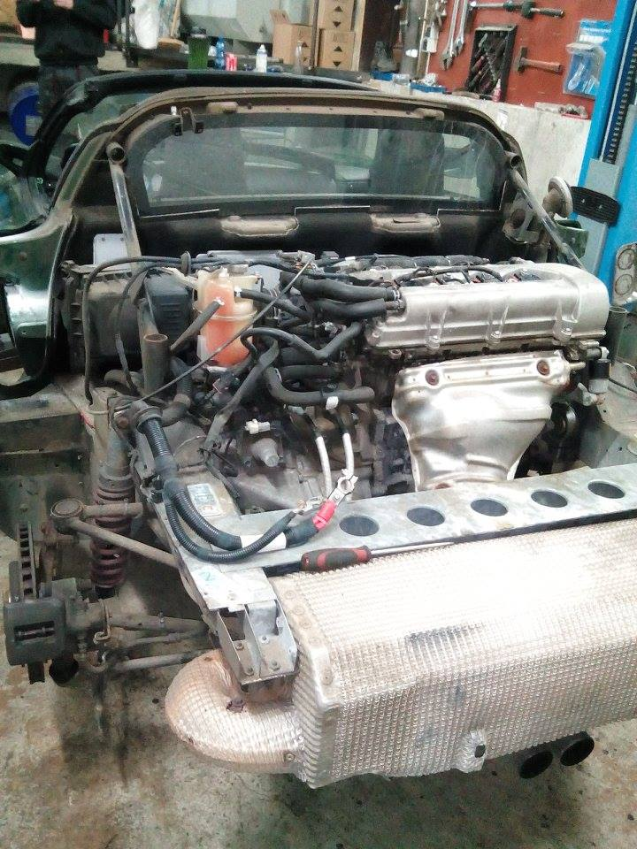 Lotus Exige 1 8l Restauration Moteur L Amp L Performance